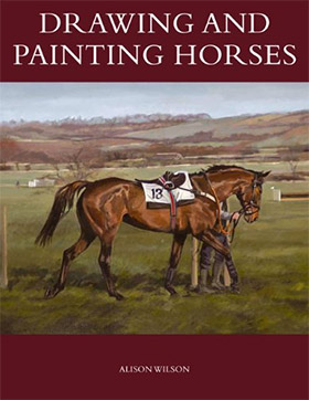 drawing painting horses
