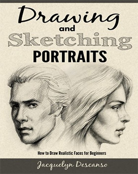 drawing sketching portraits books