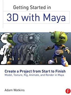 getting started 3d maya