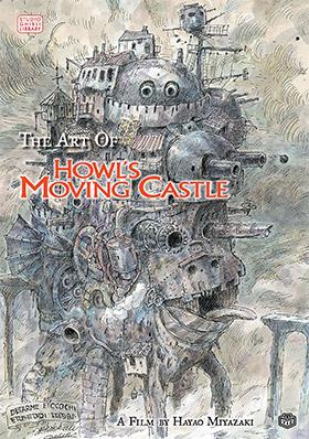howls castle artbook
