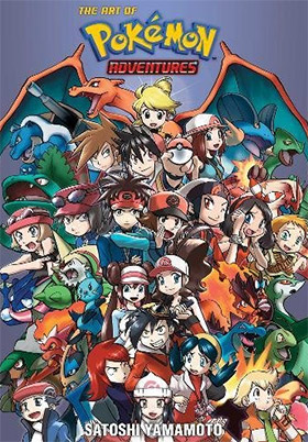 pokemon adventures artbook