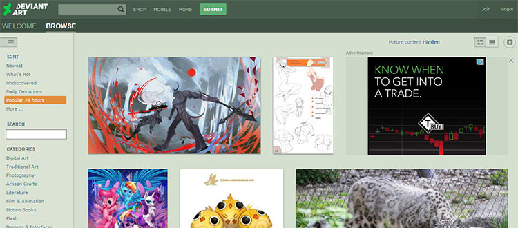 Best websites to gather art critiques online for Arts and craft websites