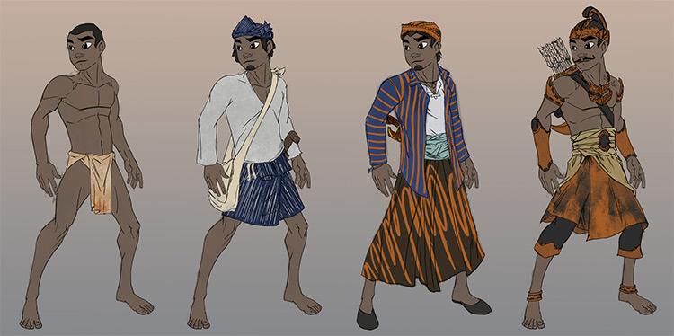ezra smith jungle boy costume art