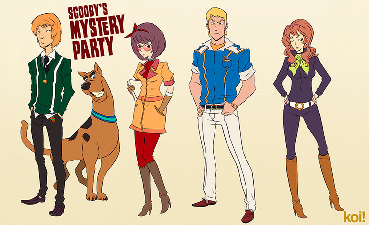 Scooby Doo Costume Concept Art Redesign