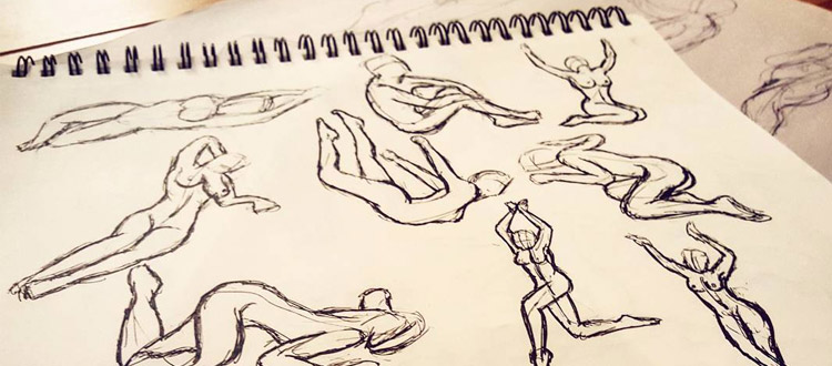 gesture drawing sketches