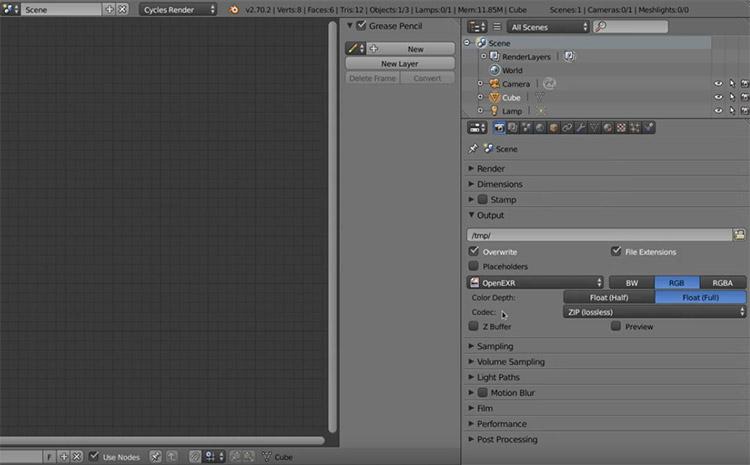 Amaranth Blender plugin