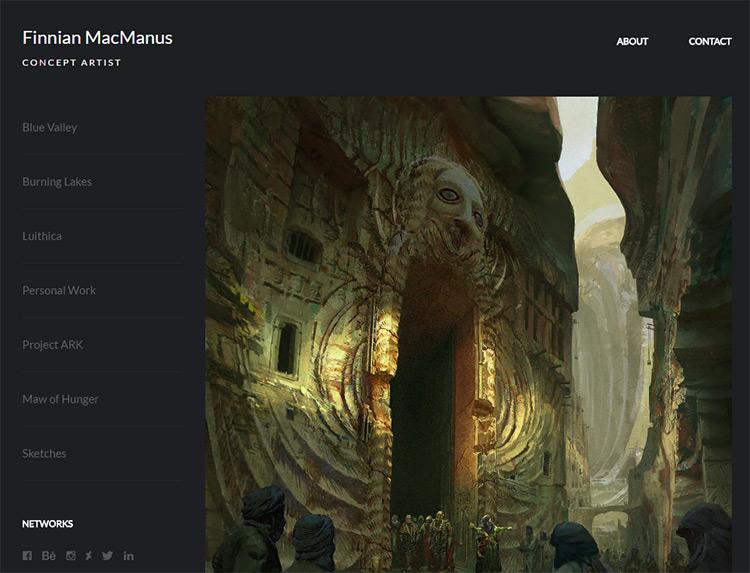 finnian macmanus website