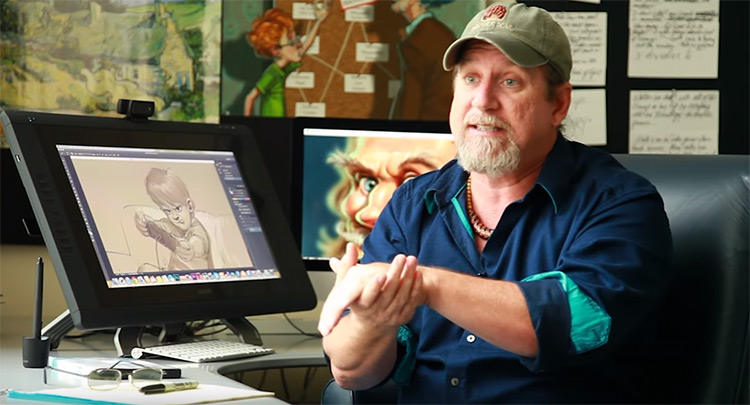 aaron blaise artist instructor teacher