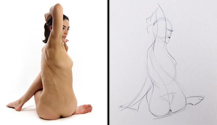 proko gesture drawing figure art