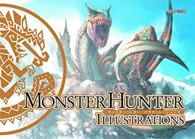 monster hunter illustrations book