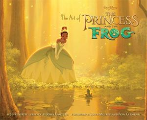 art of princess and frog