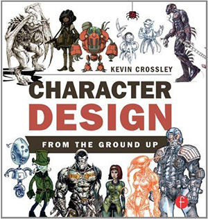 character design ground up book cover