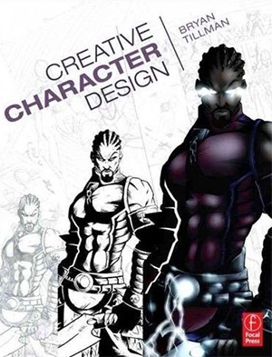 creative character design book cover