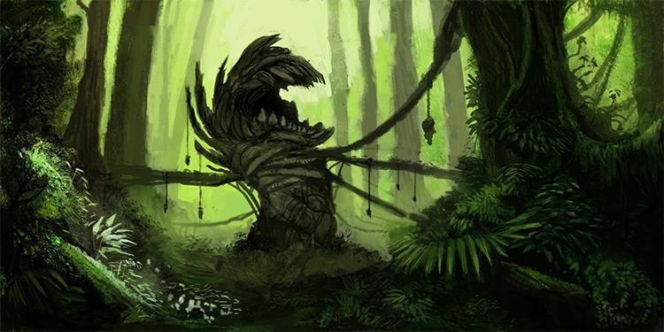 forgotten plant eater