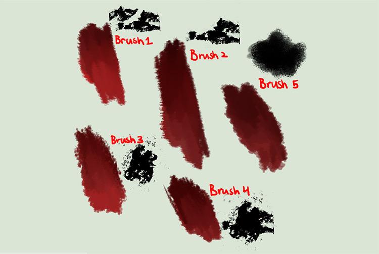 Painter style brushes