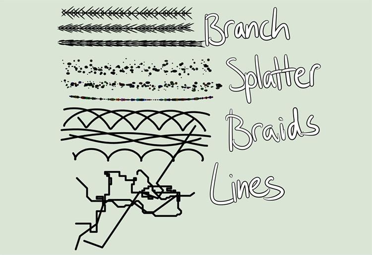 Configurable Brush Scripts