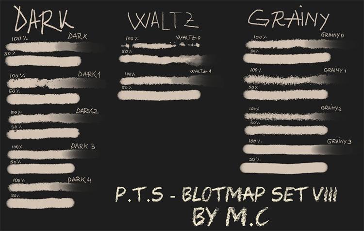 Blotmap pack viii
