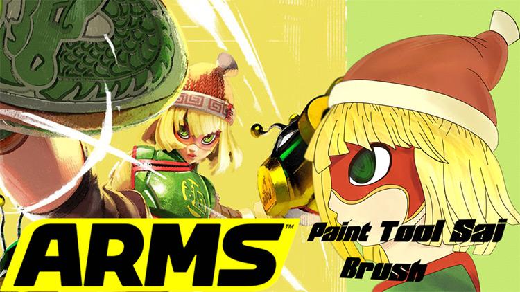 Nintendo ARMS brushes for SAI