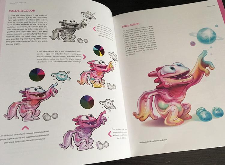 Color scheme painting samples