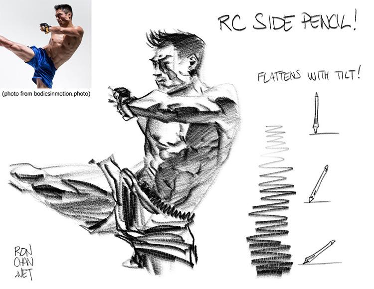 Side Pencil ClipStudioPaint