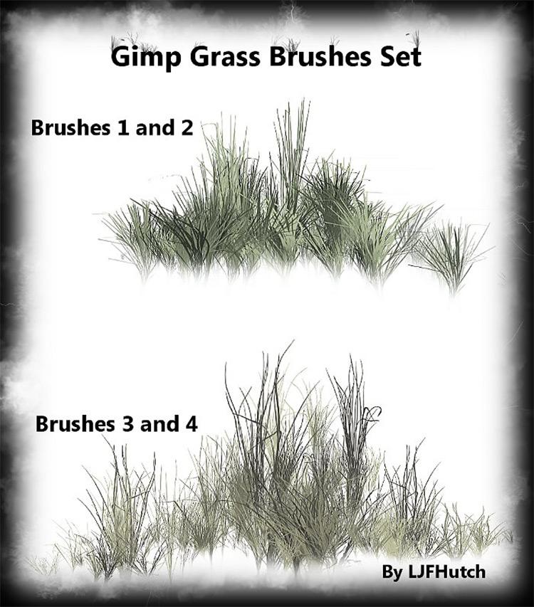 Grass brush pack