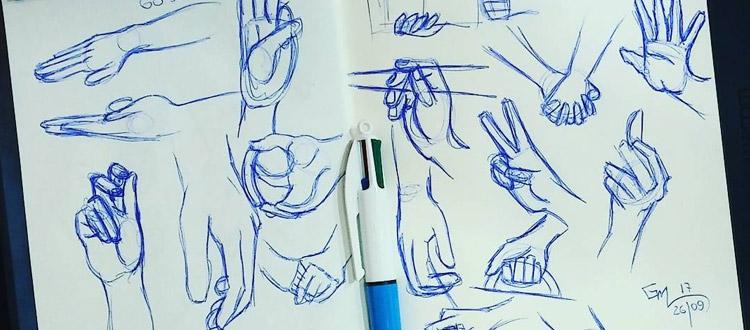build a sketching habit