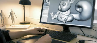 3D Sculpting example