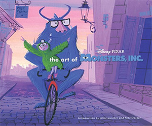 art of monsters inc