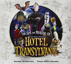 art of hotel transylvania book