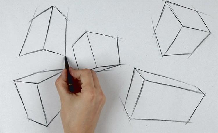 proko drawing shapes