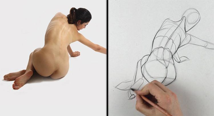 mannequinization drawing figure proko