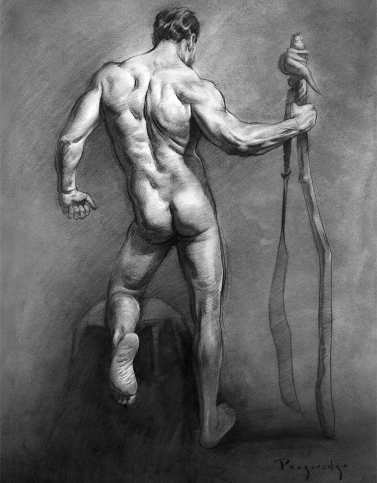 yoni figure drawing prokopenko