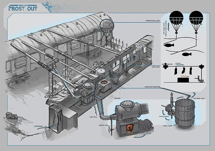 train crash concept art dariusk