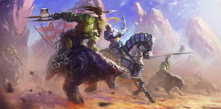 goblin chase creatures