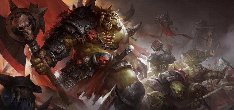 orc battle scene