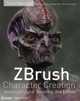 zbrush character creation book