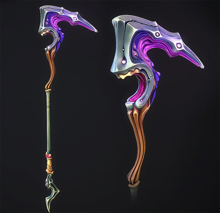 haamah staff magical weapon