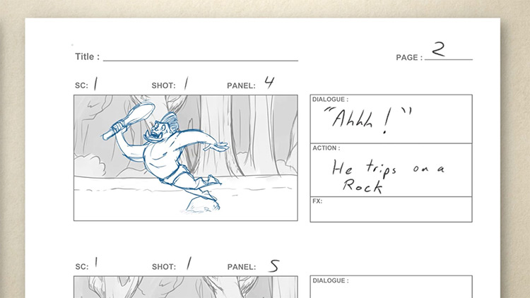 storyboard review preview