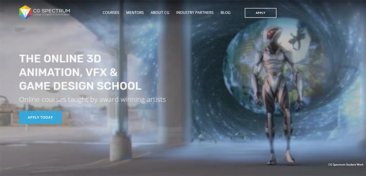 cgspectrum homepage