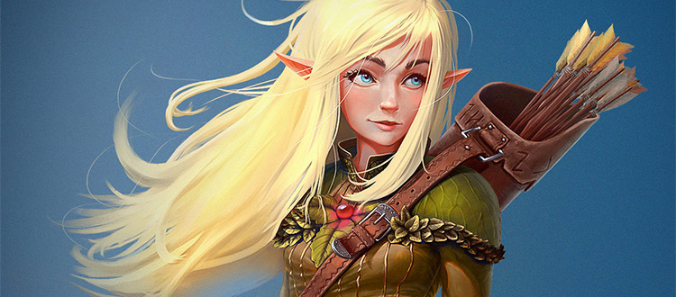 Character Design Ebook Download : Female elf image collections wallpaper and free download