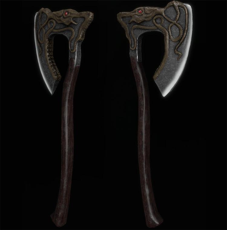 game of thrones battle axe fanart