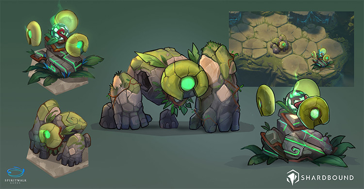 Shardbound Concept Art Earth Golem