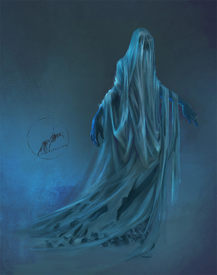 Image result for ghostly apparition art