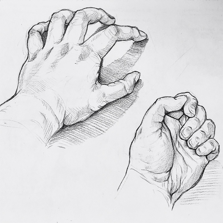 Created by chasingserenityy · top and bottom of hand drawing