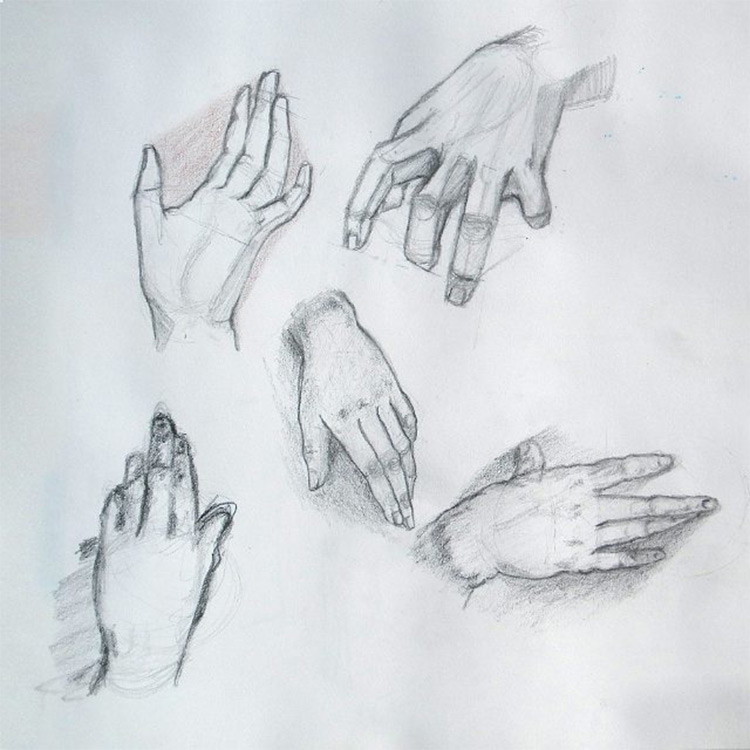 Created by astralthunder · practice shading hand drawings