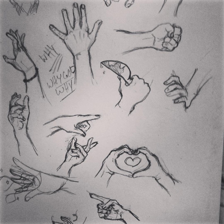 Basic hands for practice