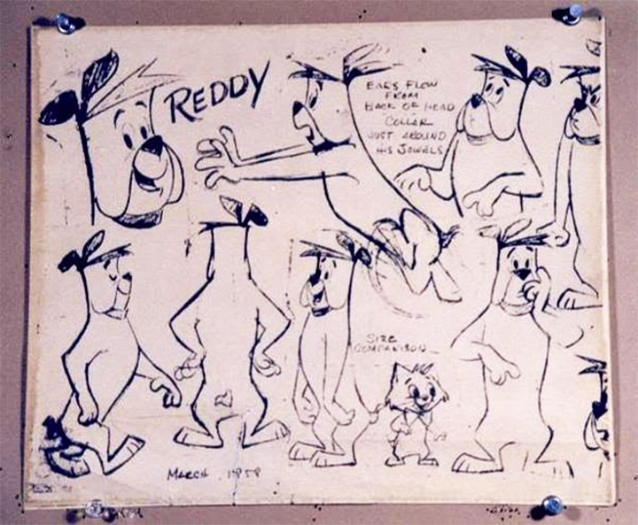 ruff and reddy model sheet dogs
