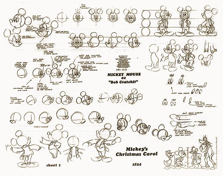 mickey christmas carol cartoon
