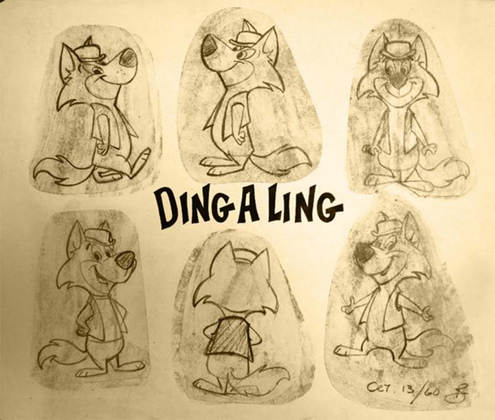 ding a ling cartoon